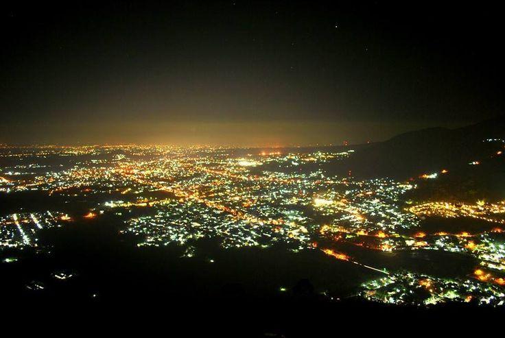 wisata paralayang kota batu malam hari