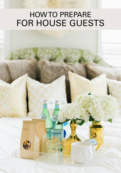 """Inviting your pals down to spend the weekend with you? Creating the perfect guest experience for them can be easy with these helpful tips. Soon enough, all your friends will be calling you the """"perfect hostess""""."""