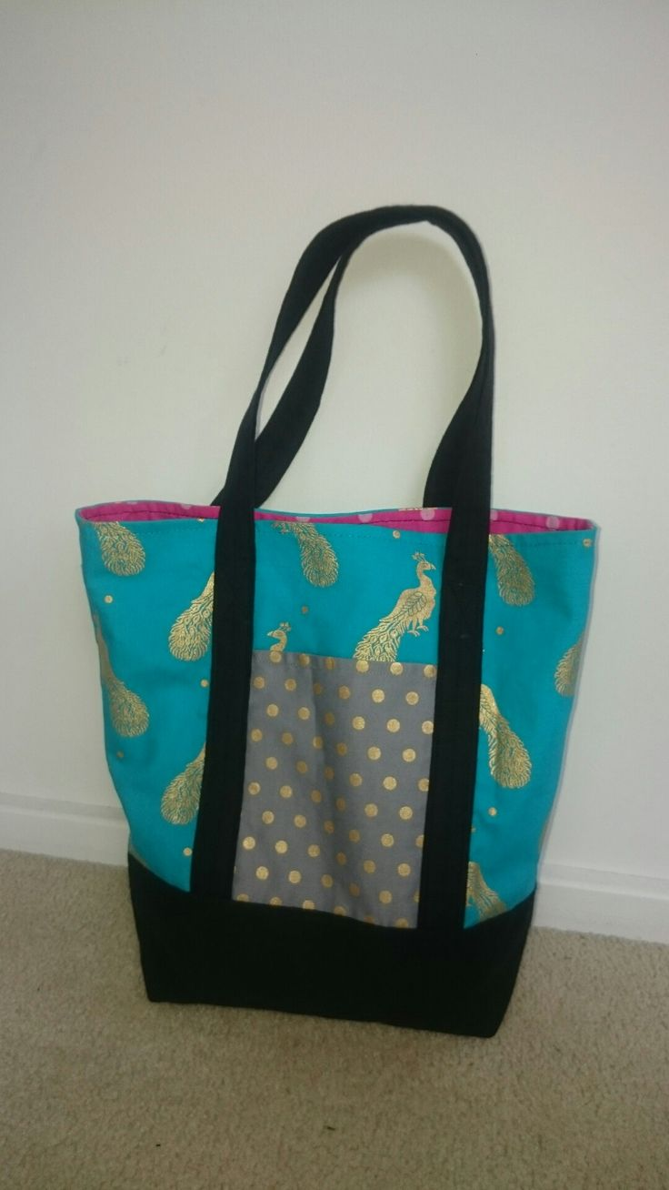 Lined tote bag.  For Lisa.
