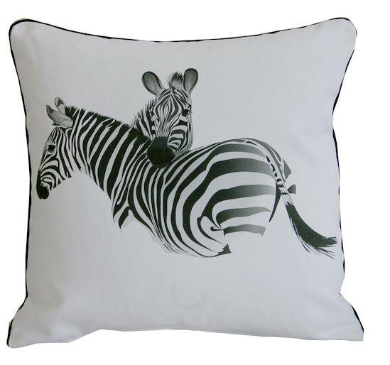 poszewka z zebrą