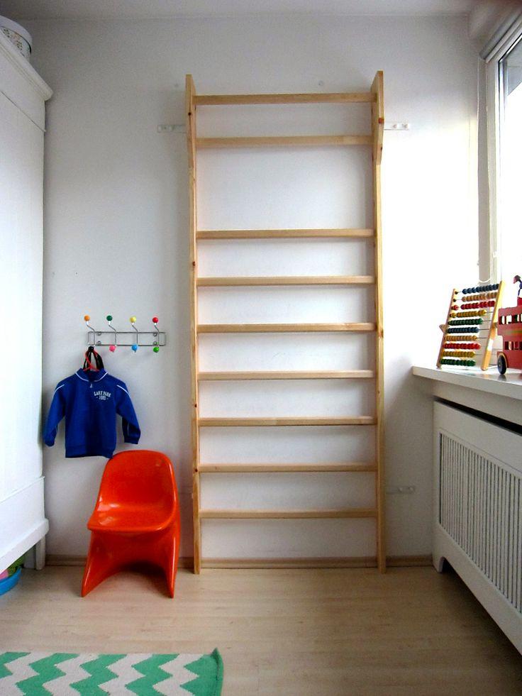 ber ideen zu sprossenwand kinderzimmer auf. Black Bedroom Furniture Sets. Home Design Ideas