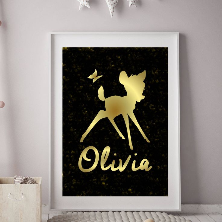 Bambi Birthday Printable Poster | Bambi Birthday | Bambi Party | Bambi Nursery Wall Art Print | Bambi Custom | Birthday Poster | Its a Party