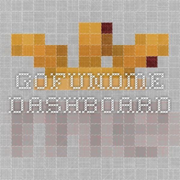 GoFundMe - Dashboard
