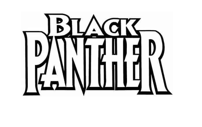 Superhero Black Panther Coloring Pages Black Panther Superhero Black Panther Black Panther Party