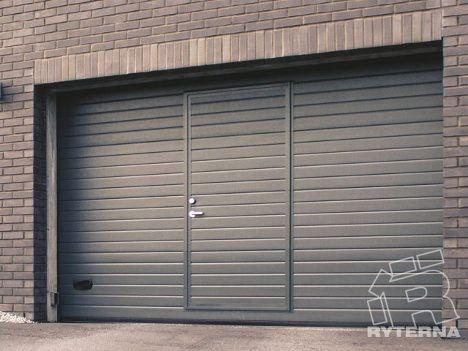 Подъемные гаражные ворота с калиткой в Находке