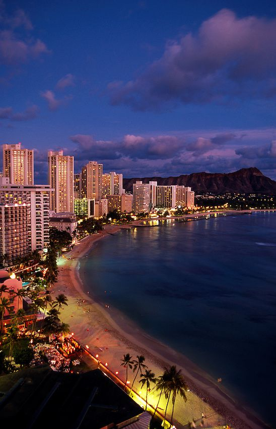 Waikiki Beach - For your next getaway with the girls, consider Honolulu, Hawaii. The beaches are to die for and there are a number of museums and other attractions for vacationers to take advantage of during their stay. (https://www.facebook.com/TravelingWarrior) #Hawaii #attractions #Waikiki