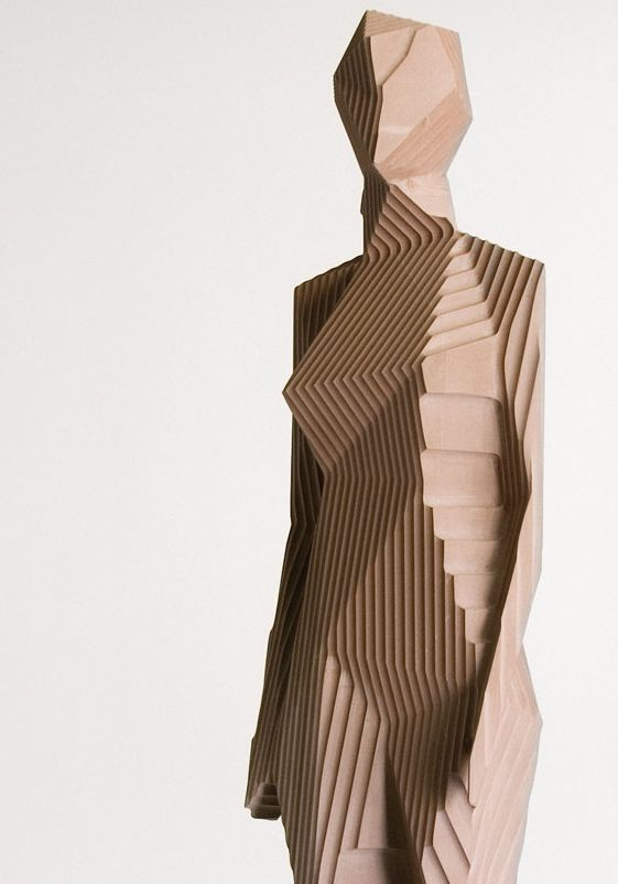 dvorets: Woman, Xavier Veilhan the lines help construct a body with minimal features. The lines are crisp and sharp and the look is nice