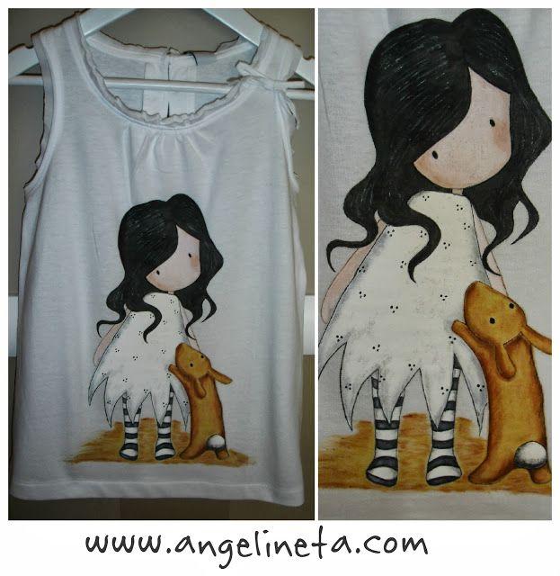 Angelineta: Pintura en tela
