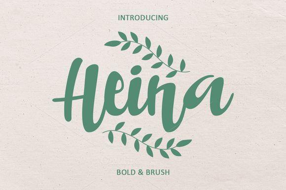 HEINA by COB on Creative Market