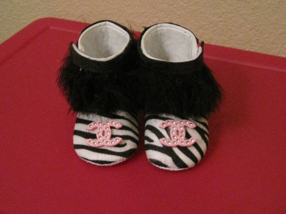 Baby Chanel boots