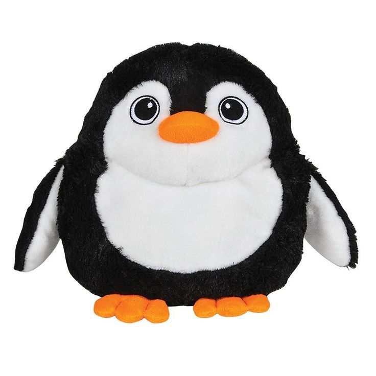 "This penguin animal pillow would be a cute addition to a little one's room or a great gift idea for an animal-lover. Pillow measures 11""."