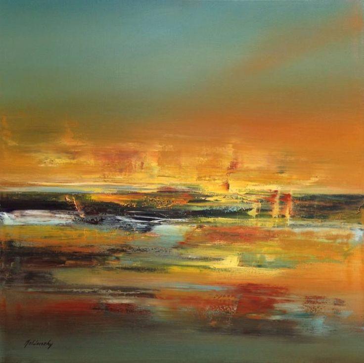 "Saatchi Art Artist Beata Belanszky-Demko; Painting, ""Ancient America"" #art"