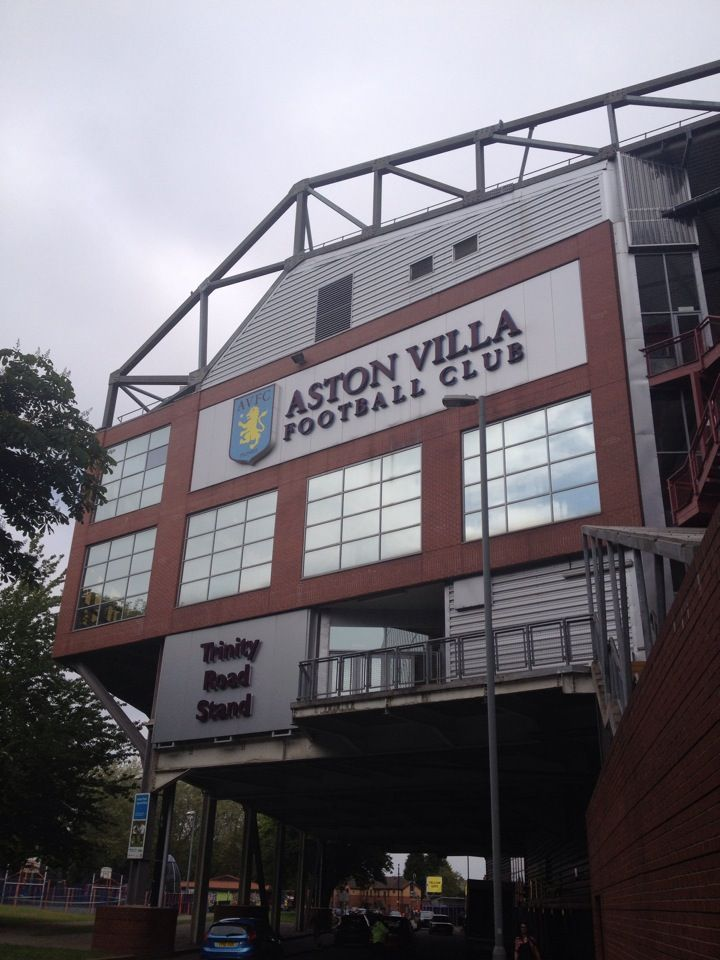 Villa Park.... Been here many times #England