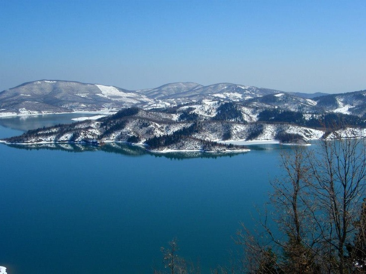 Plastira Lake, Thessalia, Greece (more images at http://www.gogreecewebtv.com)