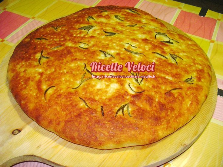 Pane, Pizze, Focacce E Torte Salate | Ricette Veloci