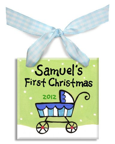 172 best personalized baby gifts images on pinterest colors stroller 1st christmas boys ornament personalized baby giftspersonalised negle Image collections