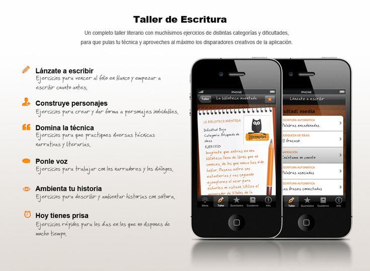 Literautas. Ejercicios de Escritura. App para iPhone/iPad.