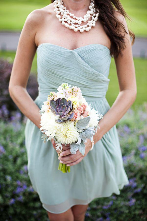 Aqua   White Waterfront Wedding | photography by http://www.kimthielphotography.com (via @Elizabeth Anne Designs)
