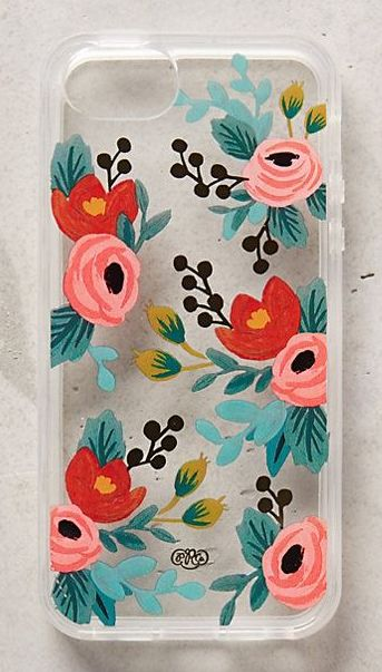 floral phone case by rifle paper co. #anthrofave http://rstyle.me/n/sevgan2bn