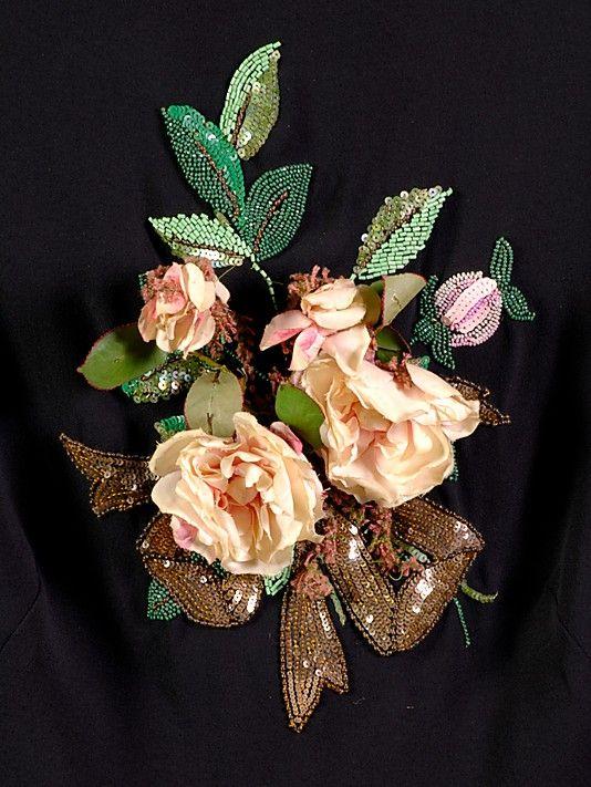 Evening blouse House of Schiaparelli  (French, 1928–1954) Designer: Elsa Schiaparelli (Italian, 1890–1973) Date: ca. 1938