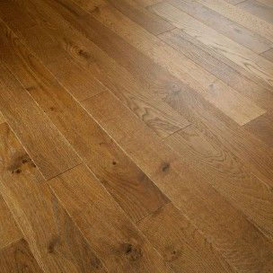 Fusion Caramel Oak 90mm Brushed and Lacquered Engineered Flooring
