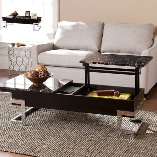 Faux-Marble-Coffee-Table-With-Lift-Top-Storage-Modern-Design-Small-Space-Black