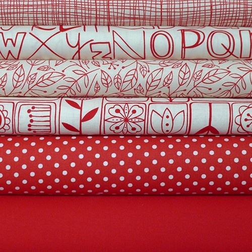 Cute red bundle from Sew Me Happy