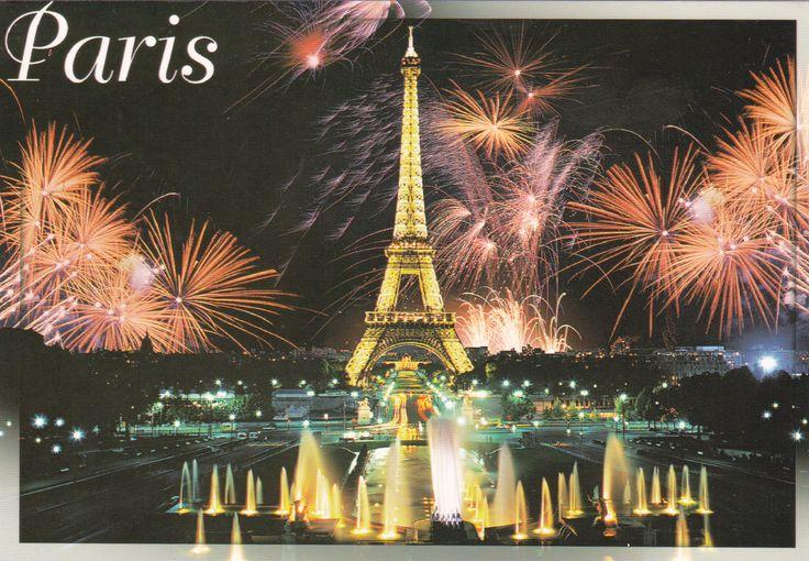 Tour Eiffel/Paris (France) - Postcard
