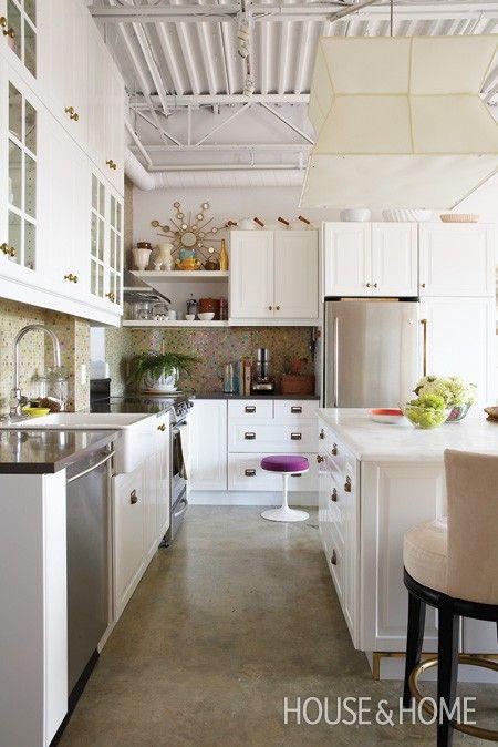 29 best Concrete Floors at Home images on Pinterest Concrete
