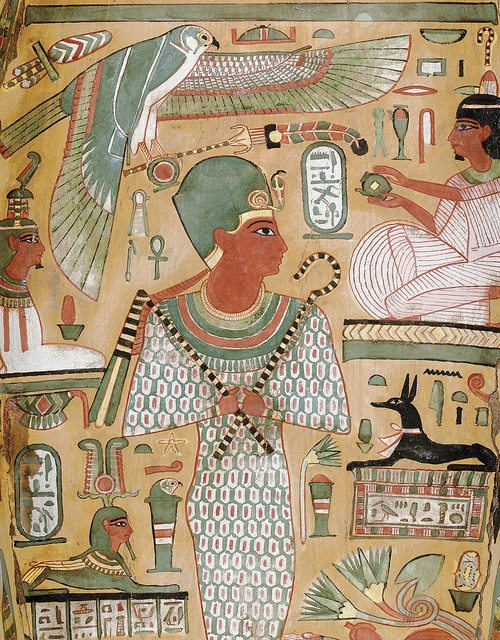 Amenhotep I & Anupet Inside the Merrin Sarcophagus