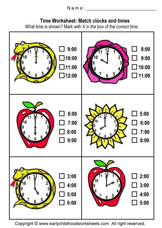 14 best Telling Time Worksheets images on Pinterest | The hours ...