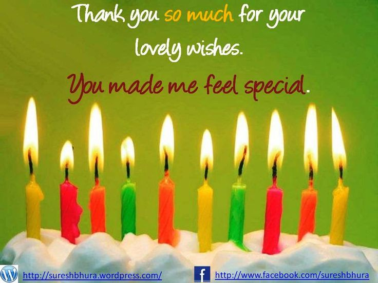 Birthday Wishes Thank You Birthday Pinterest Happy Birthday Wishes Thank You