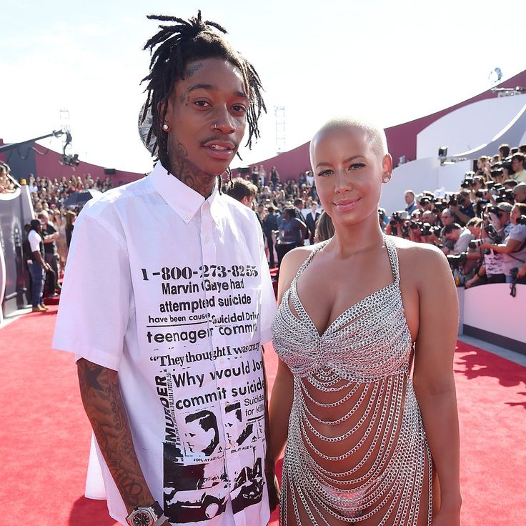 Amber Rose and Wiz Khalifa Have Reportedly Split