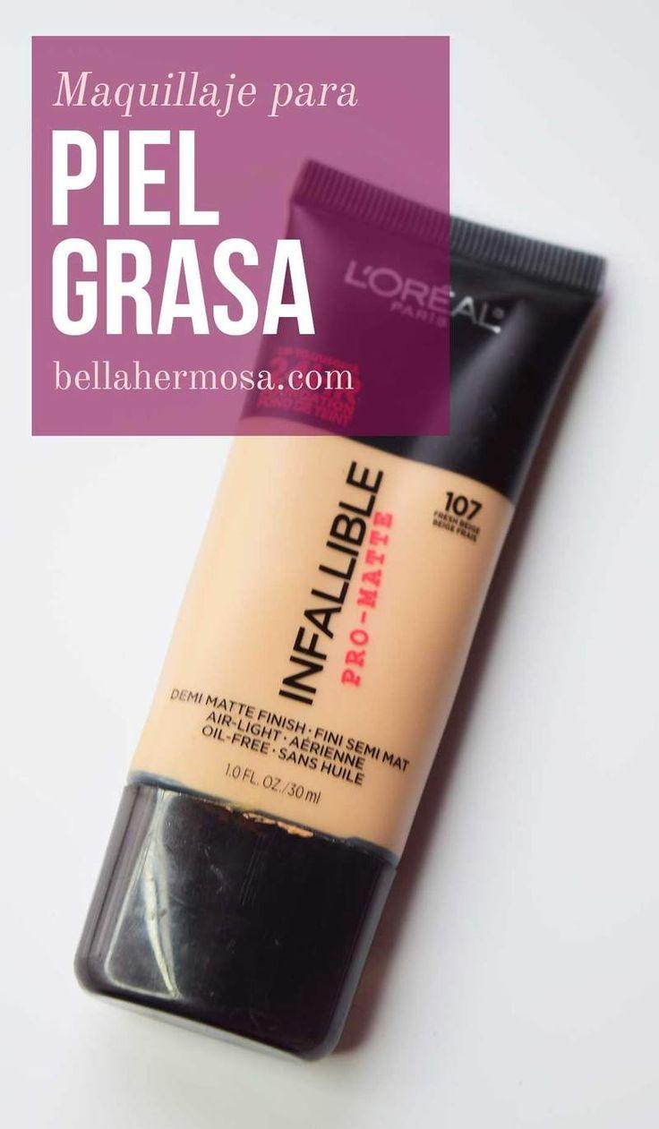 Maquillaje Infalible de L'Oréal Piel Grasa - http://makeupaccesory.com/maquillaje-infalible-de-loreal-piel-grasa/