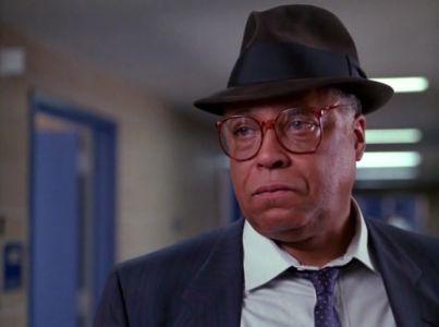 James Earl Jones as Lt. Spencer in Larry Cohen's The Ambulance