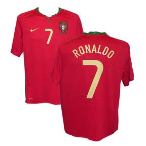 Nike Portugal Ronaldo #7 Soccer Jersey (Home 2008/09) @SoccerEvolution: http://www.soccerevolution.com/store/products/NIK_40421_A.php