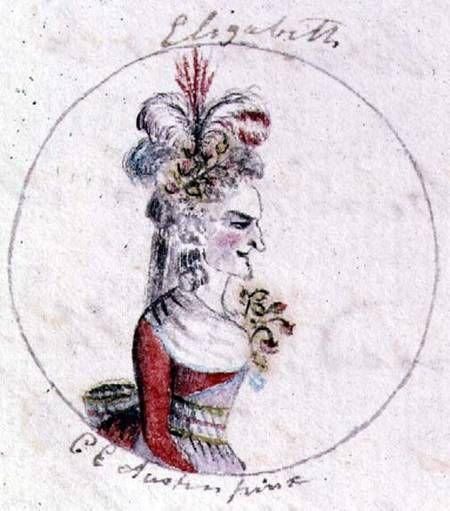 Cassandra Austen's Drawings of English Royalty for Teenage Jane Austen's Parodic History of England | Brain Pickings