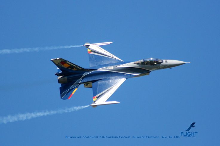 September 2014 - Belgian Air Component F-16 Fighting Falcon Solo Display Team - 60 Ans Patrouille de France, 2013 - Salon-de-Provance - May 26, 2013  Buy Now the Flight 2014 Calendar http://rp9.it/FlightCalendar2014. Contains 12 Amazing Aircraft Photos. The Best Gift for Christmas!
