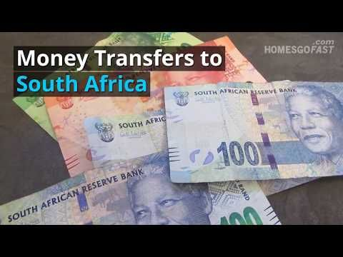 Money Transfers To South Africa Homesgofast