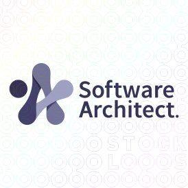 Software Architect Logo Design by Mistershot #logo, #mark, #star, #link, #software, #code, #coding, #tech, #technology, #app,