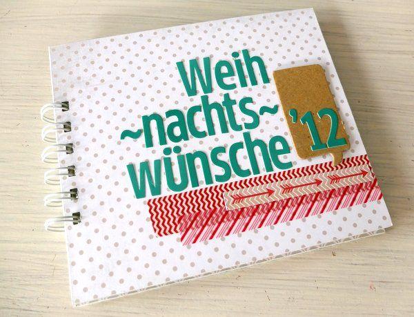 Anleitung für ein Mini-Album mit Taschen von © Nina Menden für www.danipeuss.de