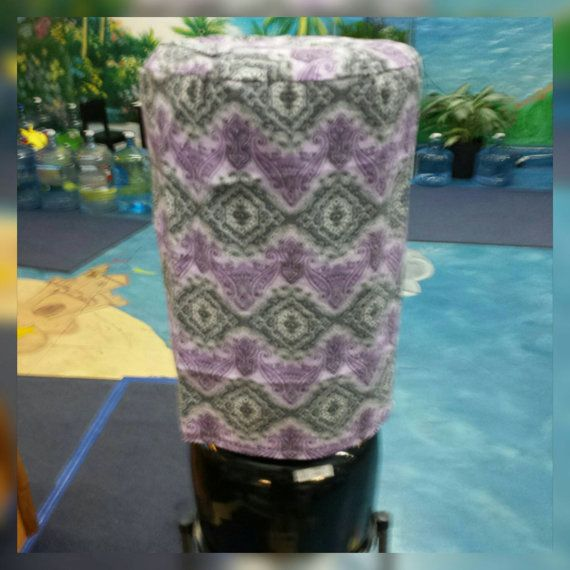 Check out this item in my Etsy shop https://www.etsy.com/listing/269764706/gray-and-purple-5-gallon-water-bottle