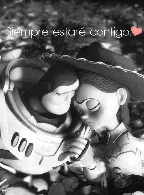 Te amo y siempre estaré contigo