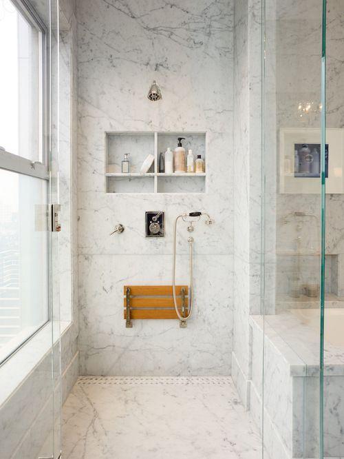 Nichos para banheiros – Ideias e fotos