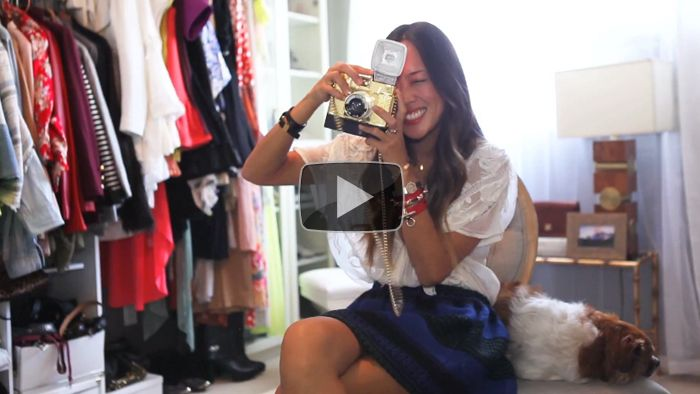 Song of Style: Finally a Closet Tour Video