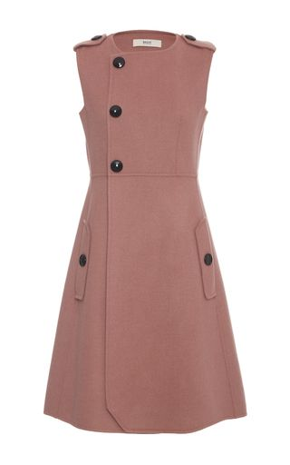Asymmetric Button Closure Dress by BALLY for Preorder on Moda Operandi