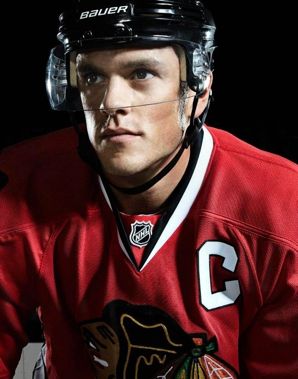 Love this picture of Jonathan Toews