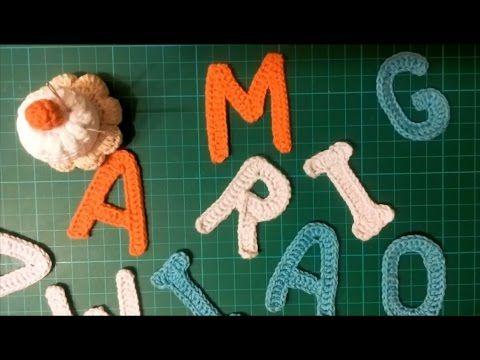 TrisTrasCreativa: Alfabeto a Crochet. Letra A
