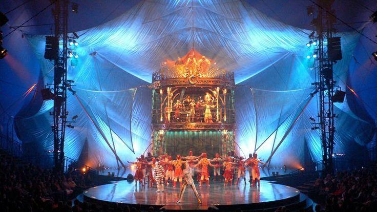 Kooza Cirque du Soleil Set: Stephane Roy Lighting: Martin Labrecque