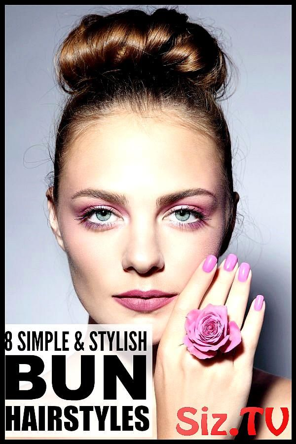 8 Super Easy Bun Hairstyles For Busy Moms 8 Super Easy Bun Hairstyles For Busy Moms If You Re Looking For Lazy Hairstyles That Allow You To Skip The S...